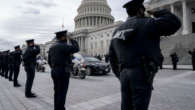 Capitol Hill Police Officer