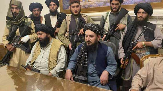 The Taliban officially declares Jihad against the West