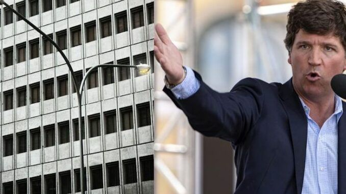 Tucker Carlson says ugly buildings are designed to dehumanize us