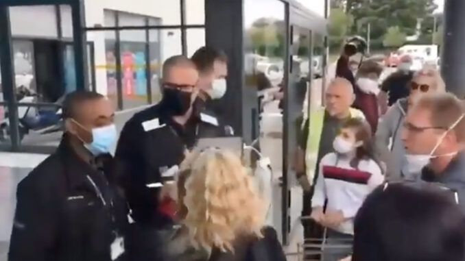 France on brink of revolution as people are blocked from supermarkets because they don't have a vaccine passport