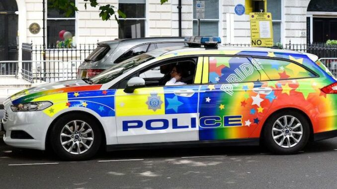 UK police are now replacing patrol cars with hate crime cars to encourage people to snitch on each other