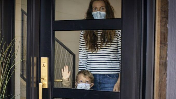 NIH says parents must wear masks inside their own homes now
