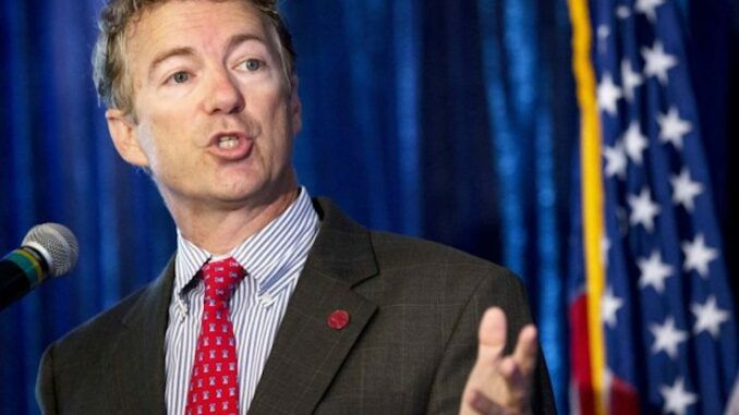 Rand Paul calls for massive civil disobedience against the New World Order