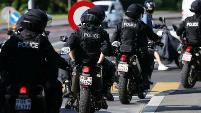 Swiss police reject New World Order lockdowns