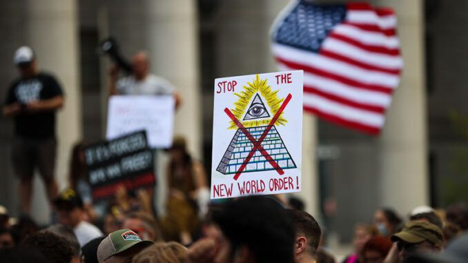 160 million Americans are rising up against the New World Order