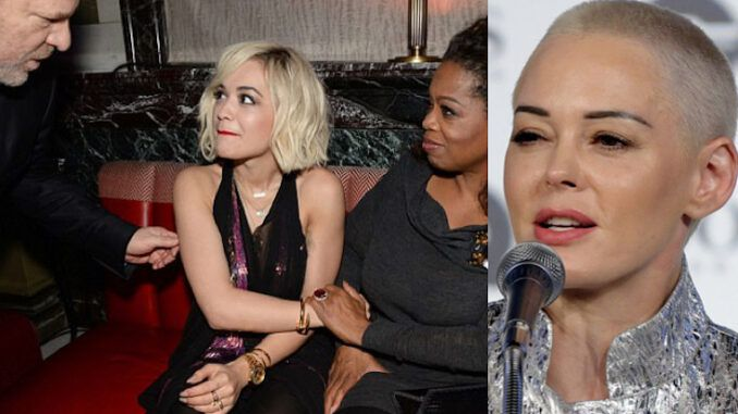 Rose McGowan blasts 'vip pimp' Oprah Winfrey - hints that the truth will about her will be exposed soon