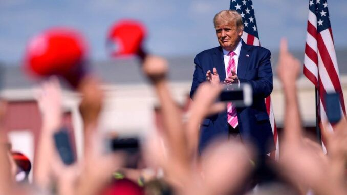 Donald Trump says he believes the election results will be decertified in bombshell new interview with The Gateway Pundit