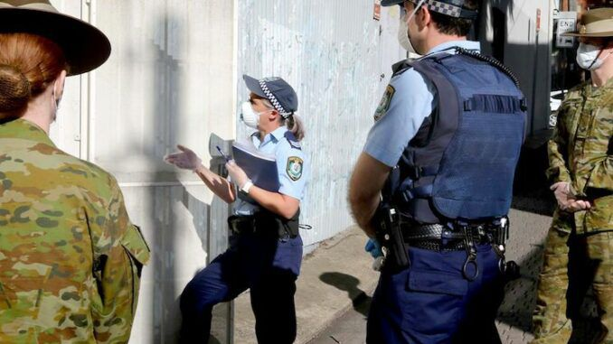 Aussie police to perform home visits to citizens who are merely thinking about attending a protest
