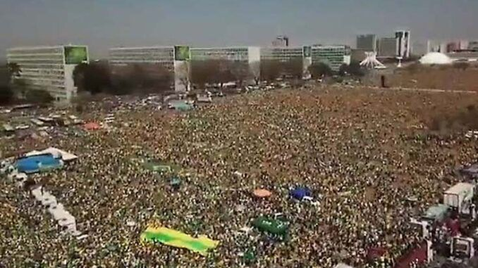 Hundreds of thousands of Brazilians rise up to reject the New World Order