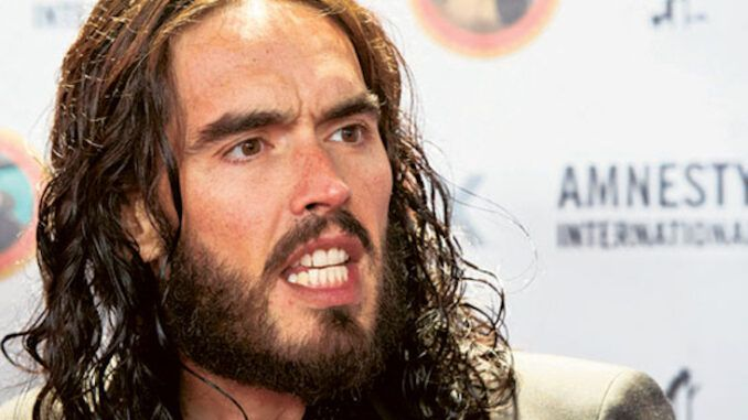 Russell Brand slams Hillary Clinton for lying about Trump Russia collusion