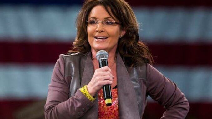 Sarah Palin says she is unvaccinated because she believes in science