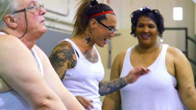Female inmates are now forced to shower with biological men