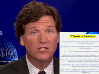 Tucker Carlson releases US army doc that likens vax mandates to the 7 tenets of satanism