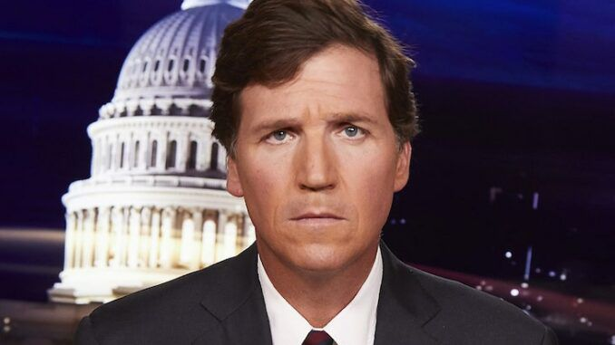 Tucker Carlson warns there will be no limits to New World Order's tyranny unless Americans rise up now
