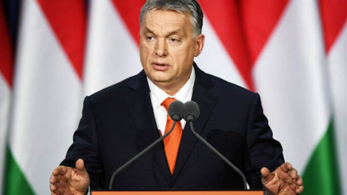 Hungarian Prime Minister Victor Orbán says migration must be stopped