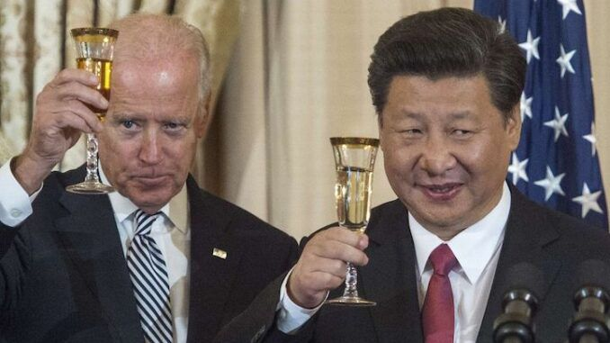 Pentagon official resigns, claiming Biden has surrendered the USA to China