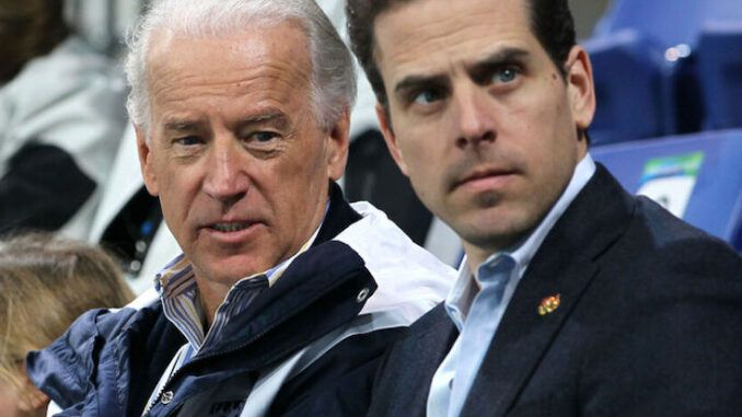 President Joe Biden could become embroiled in FBI's criminal probe of Hunter Biden's 'laptop from hell' and shady China deals