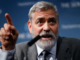 George Clooney blames Biden's awful performance as President on Donald Trump. Yes, really.