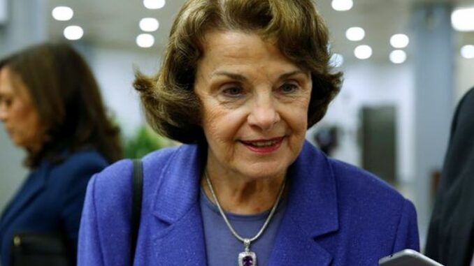 Dianne Feinstein introduces bill to ban unvaccinated Americans from flying domestically