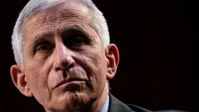 Dr. Fauci threatens to cancel Christmas this year