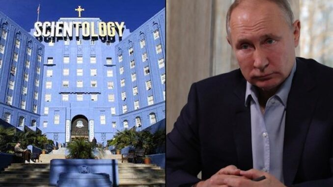 President Putin banishes 'Hollywood cult' Scientology from Russia forever