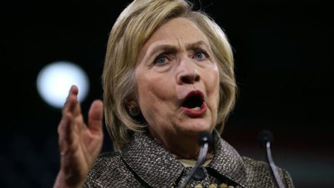 Hillary Clinton warns free-thinking Republican politicians pose a direct threat to US democracy