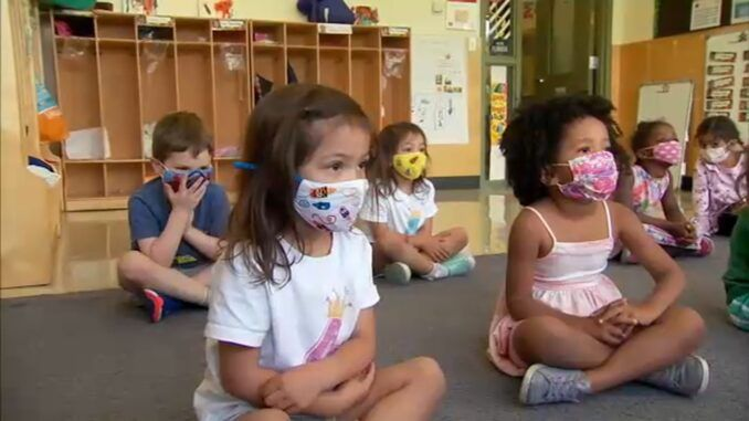 Schools are now forcing toddlers to sing pro-mask nursery rhymes